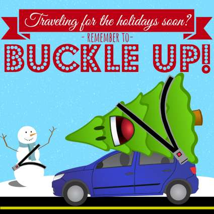 Holiday Buckle Up 425