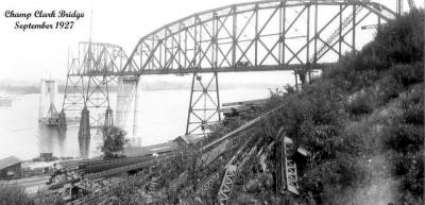 original construction of bridge 425